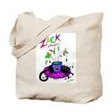 """No Zacks Allowed"" Tote Bag"