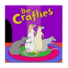 """""""The Crafties"""" Tile/Coaster"""