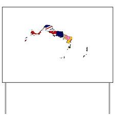 Turks and Caicos Islands Fl Yard Sign