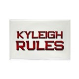 kyleigh rules Rectangle Magnet (10 pack)