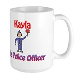 Kayla - Police Officer Mug