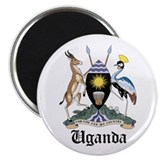 "Ugandan Coat of Arms Seal 2.25"" Magnet (10 pack)"