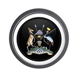 Coat of Arms of uganda Wall Clock