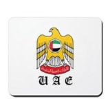 arab Coat of Arms Seal Mousepad