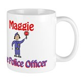 Maggie - Police Officer Small Mug
