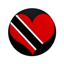 "I love trinidad and tobago 3.5"" Button"