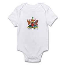 Trinidadian Coat of Arms Seal Infant Bodysuit
