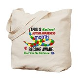 Autism Awareness Month 33.1 Tote Bag