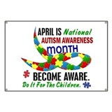 Autism Awareness Month 33.1 Banner