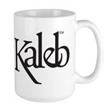 Kaleb Logo Large Coffee Cup