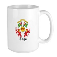 Togolese Coat of Arms Seal Mug