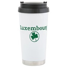 Luxembourg shamrock Travel Mug