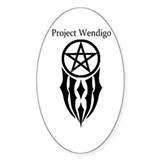 Project wendigo mandela sticker