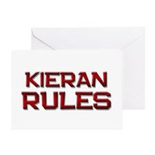 kieran rules Greeting Card