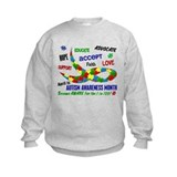 Autism Awareness Month Sweatshirt