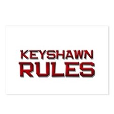 keyshawn rules Postcards (Package of 8)
