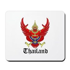 Thai Coat of Arms Seal Mousepad