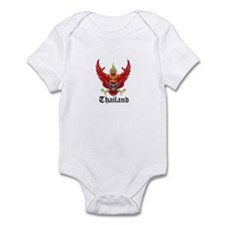 Thai Coat of Arms Seal Infant Bodysuit