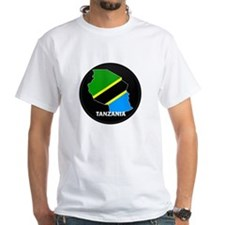Flag Map of Tanzania Shirt