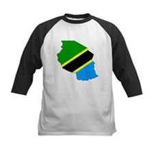Tanzania Flag Map Tee