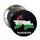 "Flag Map of Tajikistan 2.25"" Button"