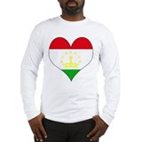 I Love Tajikistan Long Sleeve T-Shirt