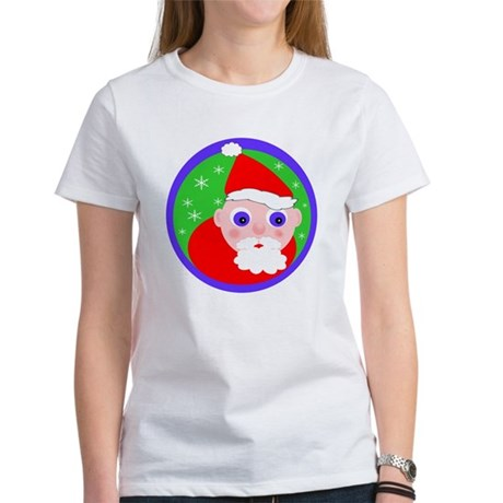 Santa Cartoon Women's T-Shirt