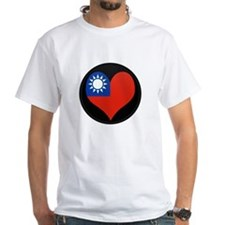 I love taiwan Flag Shirt