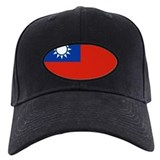 taiwan Flag Baseball Hat