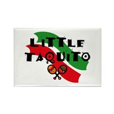 Little Taquito Rectangle Magnet