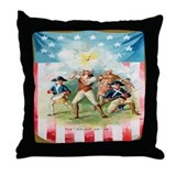 """Spirit Of 76"" Throw Pillow"