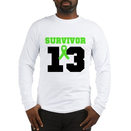 Lymphoma Survivor 13 Year Long Sleeve T-Shirt