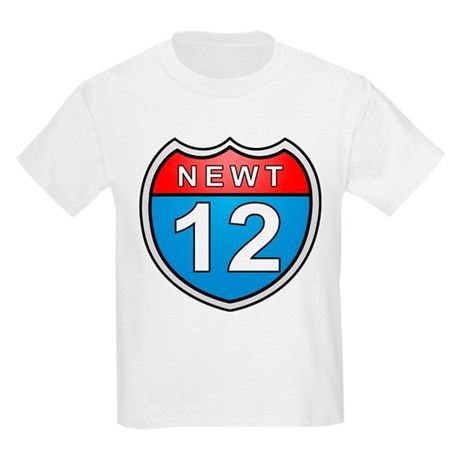 Newt Gingrich 2012 Kids Light T-Shirt