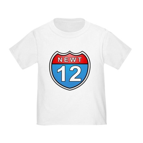Newt Gingrich 2012 Toddler T-Shirt
