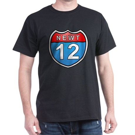 Newt Gingrich 2012 Dark T-Shirt