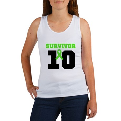 Lymphoma Survivor 10 Years Women's Tank Top