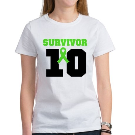 Lymphoma Survivor 10 Years Women's T-Shirt