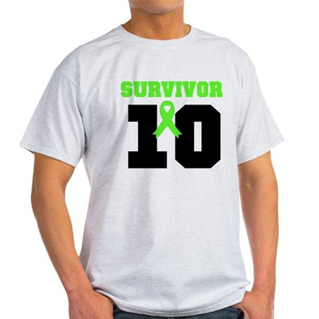 Lymphoma Survivor 10 Years Light T-Shirt