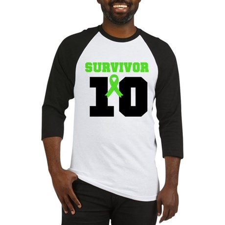 Lymphoma Survivor 10 Years Baseball Jersey