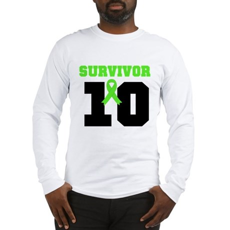 Lymphoma Survivor 10 Years Long Sleeve T-Shirt
