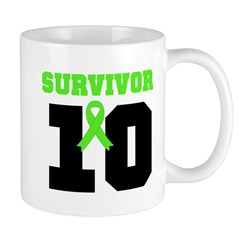 Lymphoma Survivor 10 Years Mug