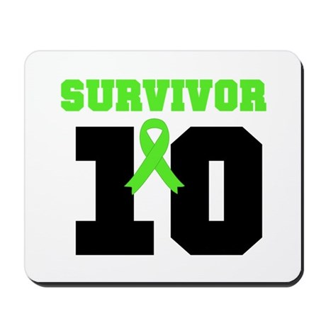 Lymphoma Survivor 10 Years Mousepad