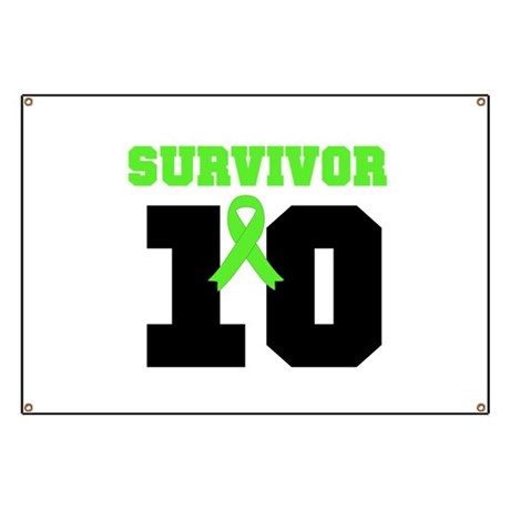 Lymphoma Survivor 10 Years Banner