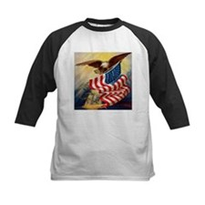 """Eagle with Flag"" Tee"