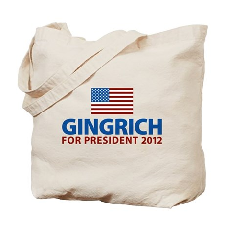 Gingrich for President 2012 Tote Bag