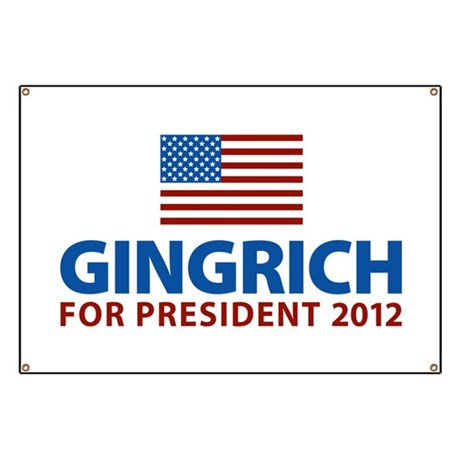 Gingrich for President 2012 Banner