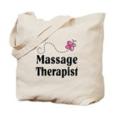 Pretty Massage Therapist Tote Bag