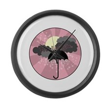 Forks Washington Large Wall Clock