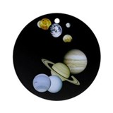 Our Solar System Astronomy Science Ornament gift