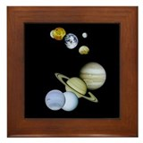 Solar System Framed Tile Astronomy Science gift